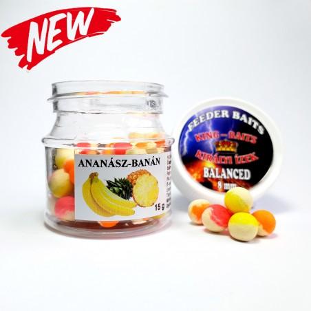 CCM FLUO Balanced Ananász-Banán Bojli