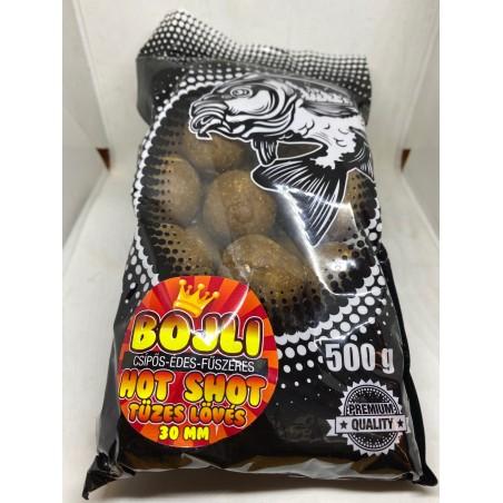 Bojli - Hot Shot HARD (csípős-édes-fűszeres) - 24 mm